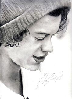 Amazing sketch of Harry