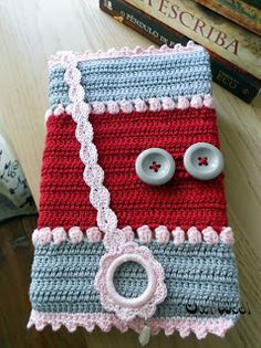 OwlWool Crochet Book Cover, Crochet Books, Crochet Hats, Xmas Gifts, Autumn, Free Crochet, Fashion Accessories, Home Furnishings, Tricot