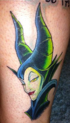 Maleficent Tattoo Maleficent sleeping beauty