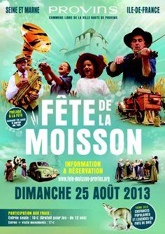 Fête de la moisson 2013 à Provins. Le dimanche 25 août 2013 à Provins.