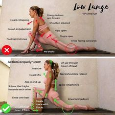 Click the link in my bio for a 20 Minute Yoga for Deep Hip Opening Video that includes this low lunge, and 5 other of my favorite stretches 🧘🏼♀️ Yoga Bewegungen, Yoga Moves, Yoga Flow, Yoga Meditation, Men Yoga, Fitness Workouts, Yoga Fitness, At Home Workouts, Yoga Workouts