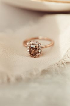 Most Popular Engagement Rings, Dream Engagement Rings, Champagne Diamond Rings, Gold Rings, Old Fashioned Wedding, Wedding Rings Vintage, Diamond Are A Girls Best Friend, Statement Rings, Just In Case