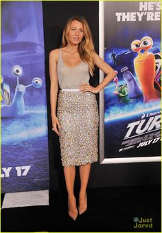 Blake Lively at Turbo premiere