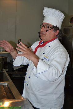 Le ricette di Gabriele Ferron: risotto con gorgonzola e spinaci