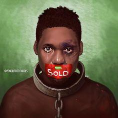 By penciledcelebrities - Black Love Art, Black Girl Art, Black Is Beautiful, Art Girl, African American Artist, African Art, African Paintings, Black Art Pictures, Black Artwork