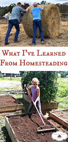 Over the years, I have learned a lot from homesteading. Here are a few of those lessons.