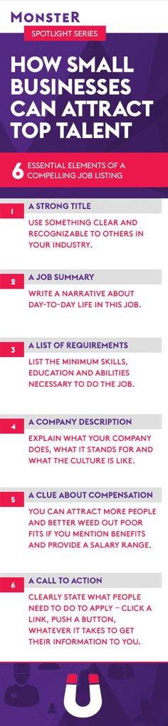 How small businesses can attract top talent: Write appealing job listings