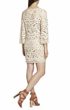 Tianya Crochet Tunic Dress | BCBG