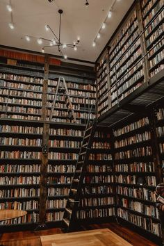 My goal is to have my house looking like the bookshelves at the Stony Island Arts Bank in Southside Chicago. Future Library, Dream Library, Home Library Design, House Design, My House, Future House, Beautiful Library, Dream Book, Book Organization