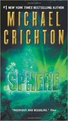 """""""Sphere is a bravura demonstration of what he does better than anyone: riveting storytelling that combines frighteningly plausible, cutting edge science and technology with pulse-pounding action and serious chills""""-Amazon.com: Books"""