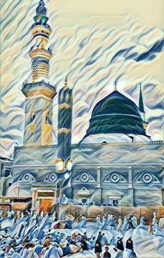 Islam With Allah # Allah Wallpaper, Islamic Wallpaper, Arabic Calligraphy Art, Arabic Art, Islamic Images, Islamic Pictures, Islamic Posters, Islamic Paintings, Beautiful Mosques