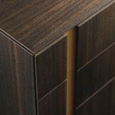 Muse Dark Wood Chest of Drawers