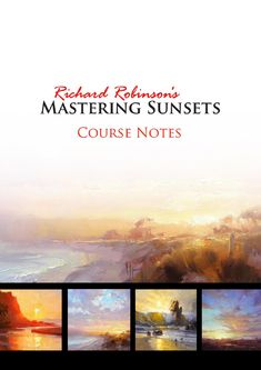 Course Notes for the Mastering Sunsets painting course at www.masteringsunsets.com