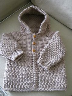 Would love to be able to make this little sweater someday! Tunisian Crochet - very cool stuff.