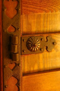 The detail of Japanese wheel Tansu
