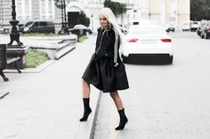 Kristina D. - how to wear athletic with heels