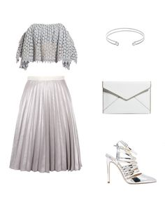 How To Style Metallic Midi Skirts For All Occasions - Wheretoget