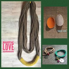 Let's start our Monday off with some love. Rustic Love, to be exact! Loving these hand crocheted and cut pieces. A mix of raw + beautiful and perfectly on trend! So excited to have this new artist HERE. with us in our #summerpopup! July 8-17th!