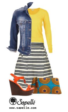"""""""How Would You Wear This Skirt? Look 3"""" by sapellestyle ❤ liked on Polyvore featuring maurices"""