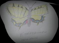 Ritariperhonen lentää  kesällä olen tekemään työ paikalla sohva pöytä