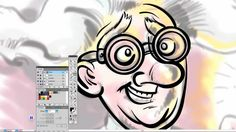 Cartoon Drawing Tutorial: Mad Scientist in Adobe Illustrator