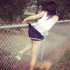 Stuck on Fence Wedgie by thescience123 on DeviantArt