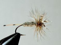The original historic Adams fly pattern, as created in Michigan in 1922