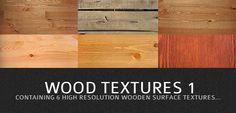 6 Hi-Res Wood Textures