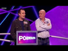 CHEERING AND APPLAUSE Thank you very much indeed Hello, I'm Alexander Armstrong, and a very warm welcome to this special comedy edition of Pointless Celebrities, the game where we aim for the obscure and we ignore the obvious  Let's meet today's Pointless celebrities And couple number one...