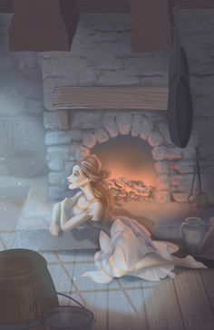 Cinderella by becsketch.deviantart.com on @deviantART