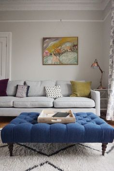 Victorian living room – farrow and ball ammonite - Home Dekor Mustard Living Rooms, Living Room Grey, Living Room Sofa, Living Room Decor, Living Room Color Schemes, Living Room Designs, Farrow And Ball Living Room, Victorian Living Room, Colourful Living Room