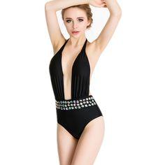787adce1c535a 2017 Sexy Women Ladies Diamond Bikini Halter Swimwear Rhinestone Luxurious  Swimsuit Bathing Suits Biquini Maillot De Bain-in Bikinis Set from Sports  ...