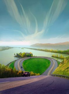 Road in Marvel Lake - Quebec, Canada Places Around The World, Oh The Places You'll Go, Places To Travel, Places To Visit, Around The Worlds, Beautiful World, Beautiful Places, Amazing Places, Destinations