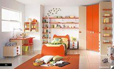 just enough orange