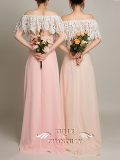 Bohemian 3 in 1 Dusty Pink Lace Covered Backless Bridesmaid Dress 3