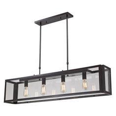 ELK Lighting Parameters-bronze 63023-4 Pendant - 47W in. - Bronze - 63023-4, Durable
