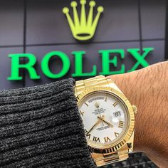 Day-Date II Yellow Gold  Available today for purchase  Call or Email us  $27500