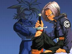 Gray-man Hallow news and also tease news of Future Trunks' return to Dragon Ball Super! Hungry for Anime? Dragon Ball Z, Akira, Trunks Dbz, Zamasu Black, Naruto, Standing In The Rain, Best Anime Shows, Z Wallpaper, Animes Wallpapers