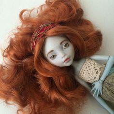 Monster High Lagoona Custom OOAK Doll