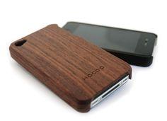 Hacoa Wooden iPhone 4 Case