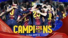 FC Barcelona - El vídeo dels campions de Lliga 2012/13