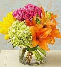 Send birthday flowers from a real Roanoke, VA local florist. George's Flowers has a large selection of gorgeous floral arrangements and bouquets. We offer same-day flower deliveries for birthday flowers. Beautiful Flower Arrangements, Floral Arrangements, Table Arrangements, Amazing Flowers, Beautiful Flowers, Simply Beautiful, Hortensia Rose, Pink Hydrangea, Deco Floral
