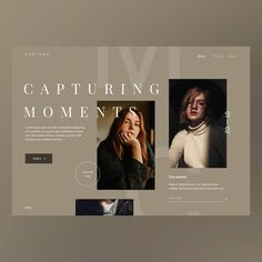 I live the earth tones.I like the faded font in the background. Web Design Trends, Graphisches Design, Flat Design, Website Design Layout, Homepage Design, Layout Design, Website Design Inspiration, Daily Inspiration, Simple Web Design