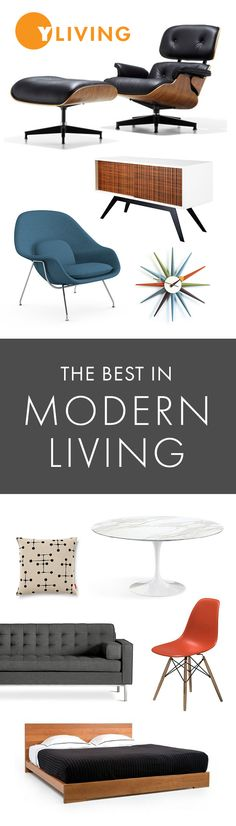 YLiving provides a curated, yet expansive collection of the best in modern furniture, home furnishings, modern outdoor furniture and accessories. Free Shipping | Expert Advice | Best Collection | Price Guarantee. yliving.com #YinTheWild