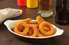 Chrupiące krążki cebulowe Onion Rings, Impreza, Snacks, Ethnic Recipes, Fit, Appetizers, Shape, Onion Strings, Treats
