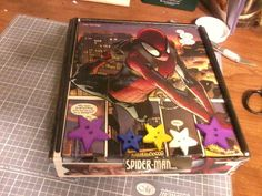 SpiderMan Cigar Box by IFeltItUp on Etsy, $16.00