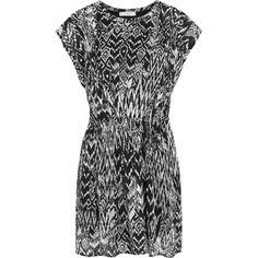 IRO Cantela georgette mini dress ($265) ❤ liked on Polyvore
