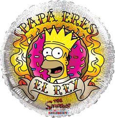 """Homero El Rey 18 Pulg Globo Met Padres, COD: 2738418, UPC Code: 2738418, Venta En Linea, Mayoreo Globos, Metálicos/Mylar/Metalizados, 18-22"""", México. Teleglobos.com"""