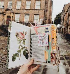 Bullet Journal Notes, Bullet Journal School, Bullet Journal Ideas Pages, Bullet Journal Inspiration, Art Journal Pages, Creative Diary, Dream Book, Scrapbook Journal, Travel Sketchbook