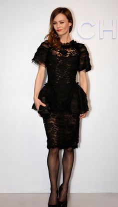 9735fcc3061 Vanessa Paradis in Chanel at the Chanel Spring Summer 2012 Haute Couture  runway show recreation